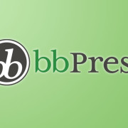 bbPress logotipo del plugin para WordPress
