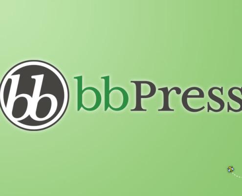 bbPress logotipo del plugin para WordPress