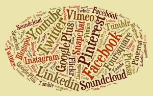 Canales en social media